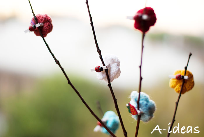 Вязаные цветы крючком [мастер-класс]