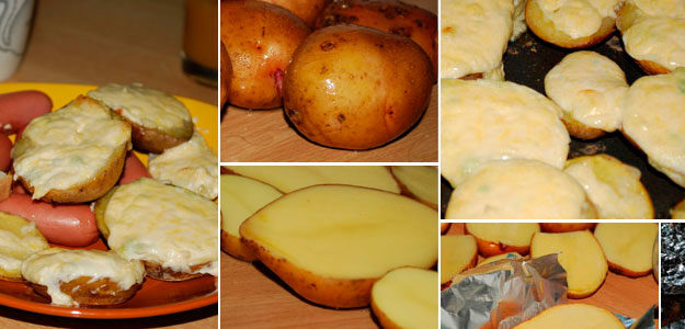 Вкусная картошка с чесноком