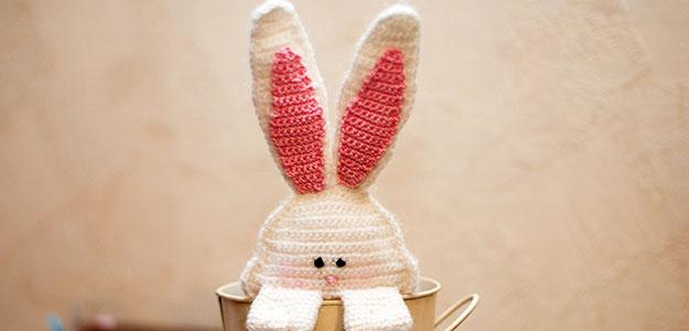 Декор к Пасхе – вязаный Кролик [мастер-класс]