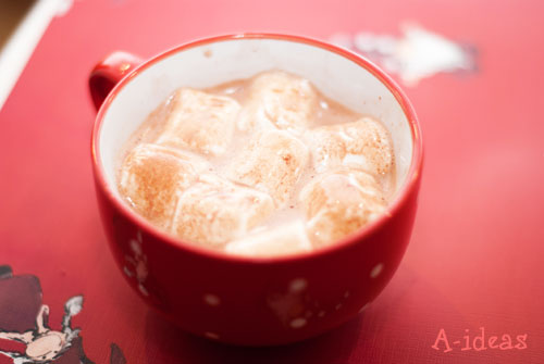 пошаговый рецепт какао с зефиром маршмеллоу