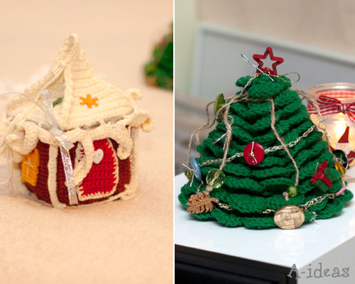 идеи новогоднего декора квартиры