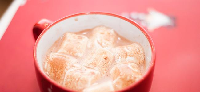 Рецепт какао c зефиром (маршмеллоу)