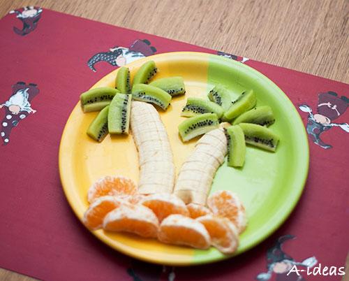 делаем фруктовую пальму