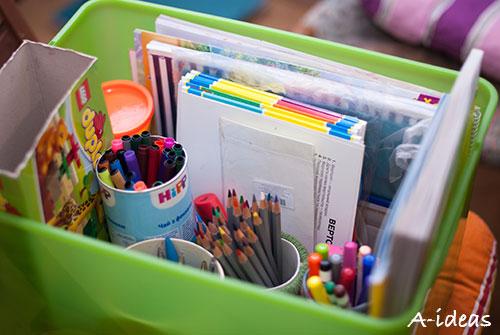 Детские материалы для творчества в одном месте