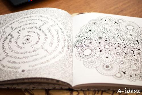 """Книжка-антистресс """"Чарівний сад"""" от Джоанны Басфорд"""