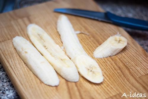 Творожно-банановая запеканка для детей рецепт