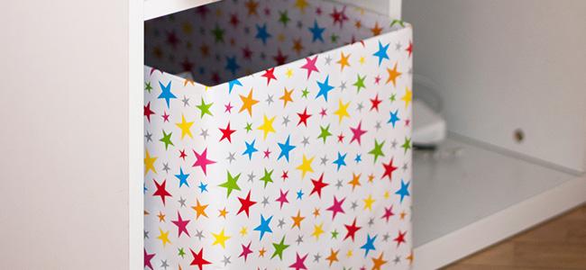 Коробка для игрушек своими руками