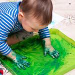 5 идей для игры с пальчиковыми красками