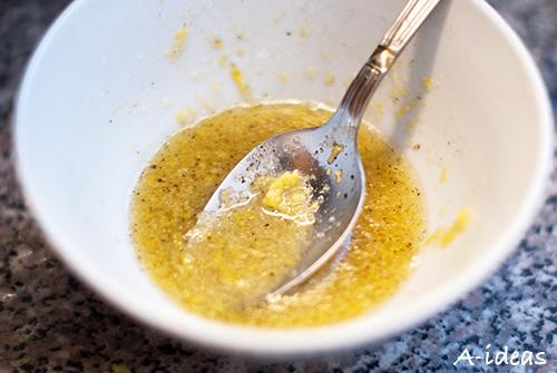Куриная грудка в лимонно-медовом соусе