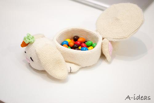 Пасхальная корзинка Кролик (мастер-класс)