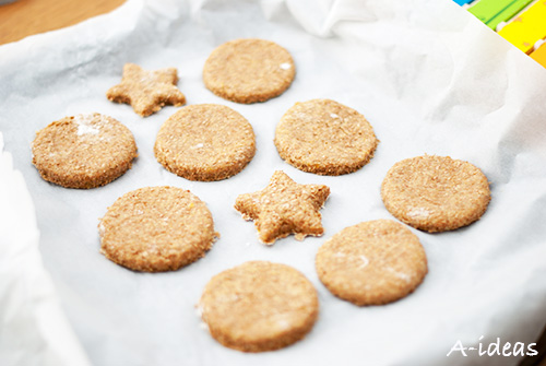 Тыквенное печенье с отрубями для детей