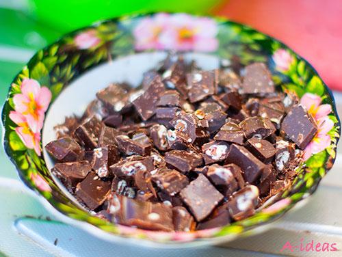 Шоколадно-творожный крем (домашняя Nutella) рецепт