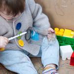 Домашняя песочница для детских игр