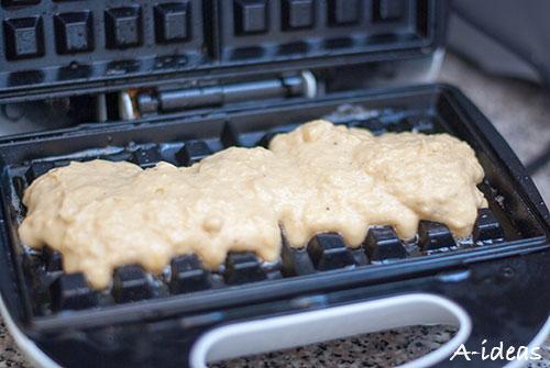 Хрустящие вафли с корицей рецепт