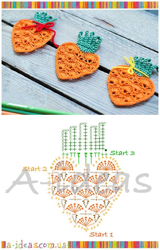 схема моркви крючком
